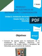 Unidad 2 - Instalaciones de arrancadores de estado solido y variadores de velocidad