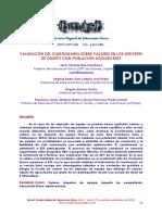 Dialnet-ValidacionDelCuestionarioSobreValoresEnLosDeportes-5392602