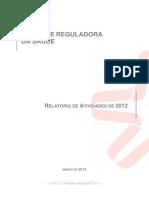 Relat Rio de Actividades 2012