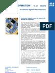 Druckfester, digitaler Sensor für relative Luftfeuchte und Temperatur