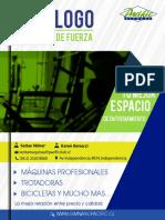 Catalogo Maquinas de Fuerza 2016