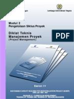 Modul 2 Eselon 4 Manajemen Proyek