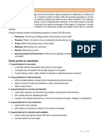 Abstract Writing Handout
