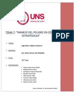 Tema7-Manejo Del Peligro en Zonas Estrategicas