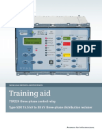 ANSI MV Recloser SDR Training Aid En