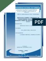 Articulo de Contrato de Fideicomiso