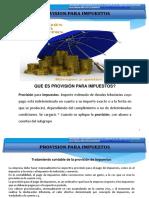 42_ Provision de Impuestos