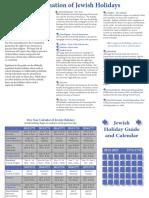 Calendar Holidays CRC