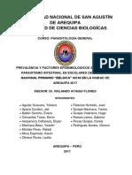 SEMINARIO PARASITOLOGIA - 2017