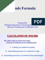 Wrd Ot Pounds Formula