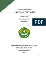 94137983 Laporan Praktikum Akhir Mekanisasi Pertanian