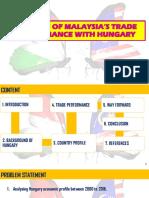 Malaysia-Hungary Economic Study