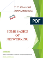 Basic to Advanced Networking Tutorials