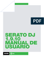 Serato DJ 1.9.10 Software Manual - Spanish