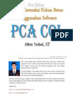 Diagram Interaksi Kolom Beton Menggunakan Software PCA Col