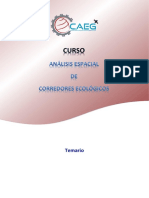 Estructura Del Curso - Análisis Espacial de Corredores Ecológicos