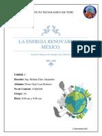 U4-La Energia Renovable en Mexico