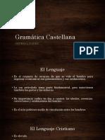 Gramática Castellana