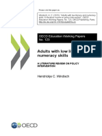 Adults with low literacy and numeracy skills