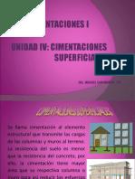 Cimentaciones i Exposicion Unidad IV Correg