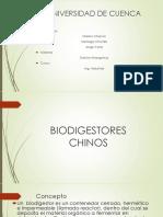 Biodigestores Chinos