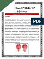 Hiperplasia Prostática Benigna Exposicion
