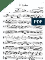 Drouet25 Studies for Flute