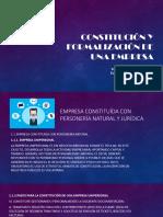 Constitución y Formalización de Una Empresa