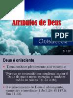 Atributos de Deus_Onisciência