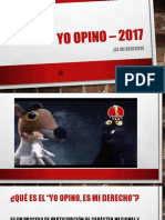 Yo Opino – 2017 PPT