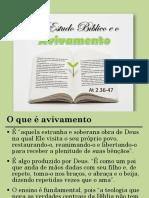 O Estudo Bíblico e o Avivamento