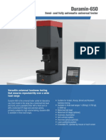 Semi- and fully Automatic Universal Hardness Tester - Duramin-650