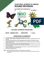 2016 Grade 9 Rev Paper Ns 0