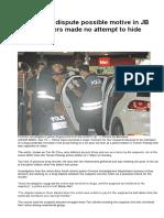 Cops- Murder case in Johor