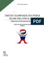 Modul Olimpiade IPA Fisika SD Untuk Pelatihan OSN SD Folder OSN.pdf