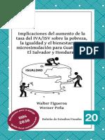 Implicaciones Del Aumento a La Tasa Del Iva En Guatemala y El Salvador