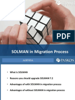 Advantages of With and Without SOLMAN_v98