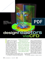 Design Reactors Via CFD