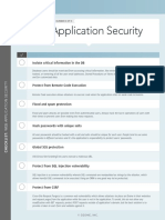 Checklist Web Application Security