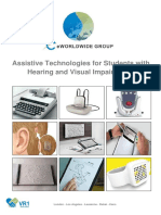 2017 - Catalogue - Assistive Technologies for Students With Hearing and Visual Impairments (With Price)- AH
