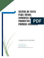 Comercio Electronico Proyecto
