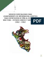 Servicio Especializado Para Levantamiento de Exportacion de Piña a New York