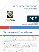 Mistake Proofin - Pokayoke