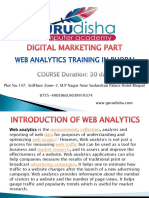 Web Analytics Training in Bhopal