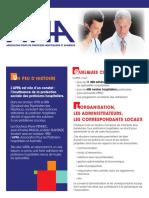 Dépliant d'information - PH et HU