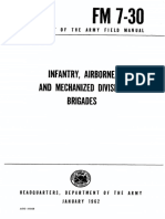 FM7-30 Infantry, Airborne, and Mechanized Division Brigades