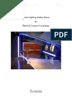 Smart Lighting Retail and Cinema Complexes