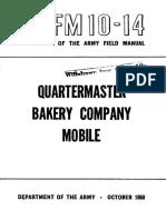 FM10-14 Quartermaster Bakery Company Mobile