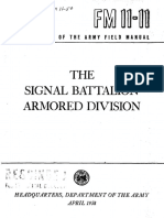 FM11-11 The Signal Battalion Armored Division