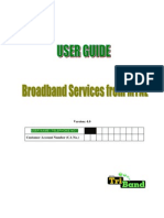 Broadband Services UserGuide V3.0